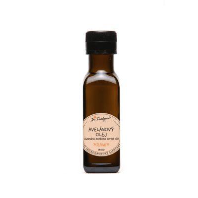 avelánový olej lisovaný za studena bio